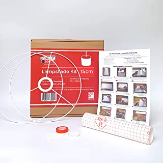 Kit de fabrication d'abat-jour 15 cm pour suspension ou lampe de table