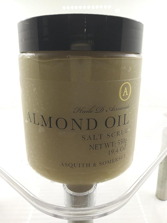 Almond Oil Salt 19.4 爆買いセール oz Scrub 新品