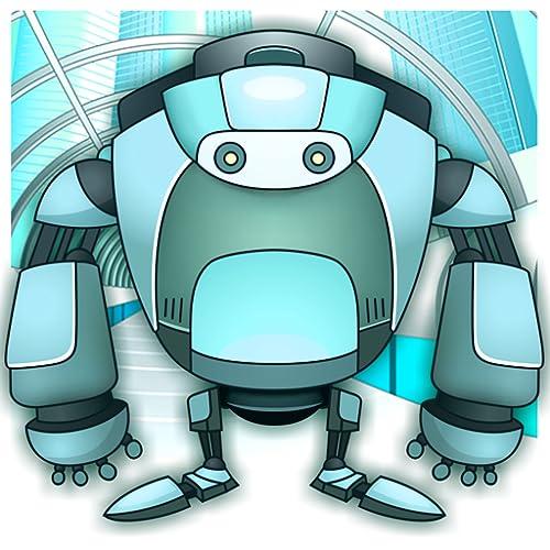 Roboter Malbuch
