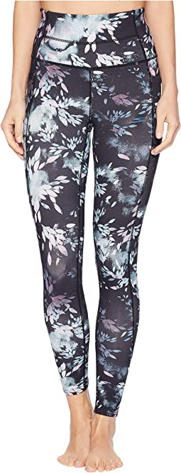 High-Waisted Printed Gratitude 7/8 Leggings