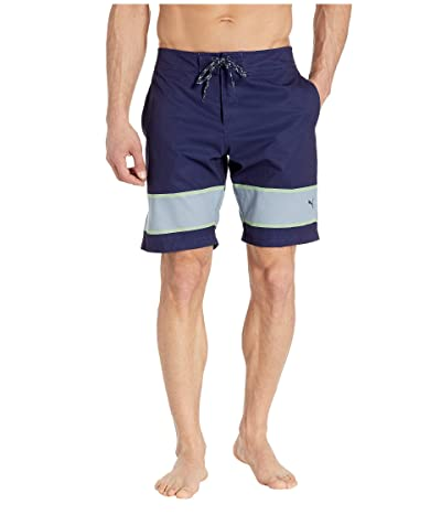 PUMA Golf Hang Ten Boardshorts (Peacoat) Men