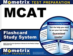 MCAT Flashcard Study System: MCAT Exam Practice Questions & Review for the Medical College Admission Test (Cards)