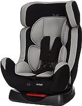 Play Scout 30185 - Silla de coche, grupo 0+/1/2 (0 - 25 kg), Negro y gris