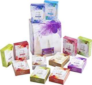 Eleet Assorted Natural Incense Cones Premium Quality- 12 Premium Fragrances 10 Cones Each Incense Hand Rolled in India Tot...