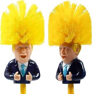 The Bog Standard Boris Johnson - Escobilla de inodoro, diseño de humor político
