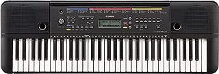 Yamaha PSR-E263 - Teclado digital portátil para principiantes de 61 teclas, múltiples funciones de aprendizaje y Modo Dúo, color negro