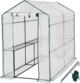 TecTake Invernadero de jardín vivero casero Plantas