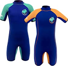 TEAM MAGNUS Kids' Wetsuit - Unique 5mm Neoprene Shorty - Extremely Insulating and Elastic for Kids Age 3-14