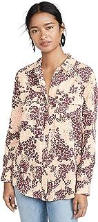 Equipment womens Equipment Women's Floral Slim Signature Shirt Shirt