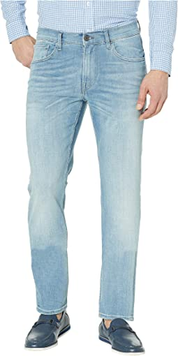 Blake Slim Straight Zip in Centre