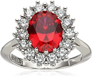 Best ruby with silver ring Reviews