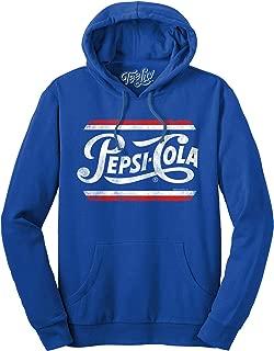 Pepsi Hoodie - French Terry Hooded Pepsi Sweatshirt