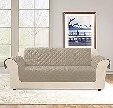 غطاء أريكة مقاوم للماء ريدي فيت من شورفيت، يتميز بوجود دورانبيل لطرد الانسكابات والبقع، وظهر غير قابل للانزلاق لتثبيت الغط...