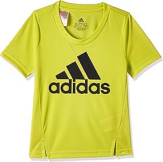 adidas girls ADIDAS GIRLS D2M BIG LOGO T-SHIRT TShirt
