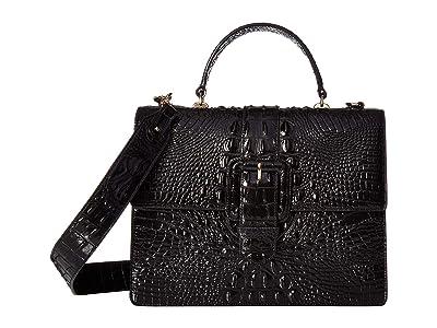 Brahmin Medium Francine (Black) Handbags