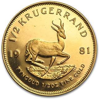 Best 1981 krugerrand gold coin Reviews
