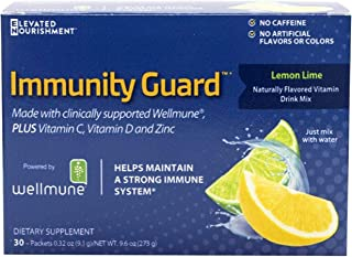 Elevated Nourishment Immunity Guard Naturally Flavored Vitamin Drink Mix, Blood Orange, 30 Packets