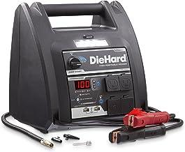 DieHard 71688 1150 Peak Amp 12V Jump Starter with USB/12V Portable Power Ports and 100PSI..
