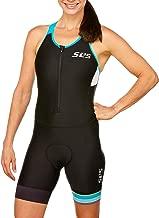 SLS3 Triathlon Suit Women FRT - Tri Suits Women - Womens Tri Suits - Women's Triathlon Suits - Slim Athletic Fit (No Shelf Bra)