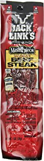 Jack Link's Premium Cuts Beef Steak, BBQ Recipe, 1 oz., 12 Count – Great Protein Snack with 8g of Protein and 7g of Carbs per Serving, Made with 100% Premium Beef