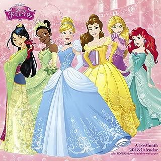 2018 Disney Princess Wall Calendar (Day Dream)