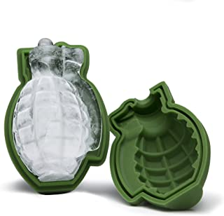 3D Grenade Ice Cube Mold, Silicone Ice Mold, A Great Mens Gift - The ORIGINAL 3D Grenade Mold