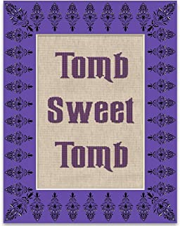 Tomb Sweet Tomb - Disney Haunted Mansion - 11x14 Unframed Patent Print - Great Gift for Disney Fans Under $15