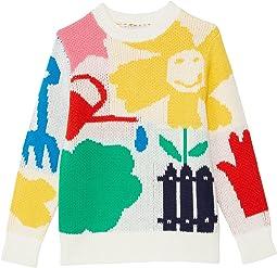 Gardening Knit Sweater (Toddler/Little Kids/Big Kids)