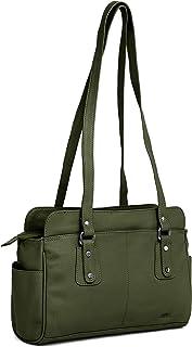 Kattee Angelica by WildHorn® Upper Grain Genuine Leather Ladies Shoulder Bag   Hand Bag for Girls & Women.