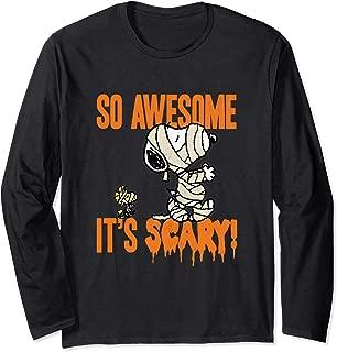 Halloween Snoopy Scary Mummy Long Sleeve T-Shirt