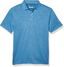 PGA TOUR Men's Short Sleeve Slub Polo Shirt