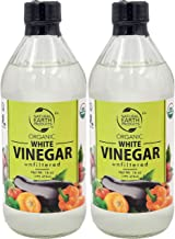 Organic White Vinegar, Unfiltered, And Unpasteurized, 16oz (2-Pack)