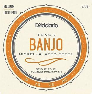 D'Addario EJ63 Nickel Tenor Banjo Strings, 9-30