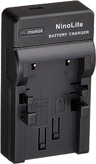 NinoLite USB型 バッテリー 用 充電器 海外用交換プラグ付 Canon NB-1L NB-1LH NB-3L 等対応 チャージャー DC17/K4