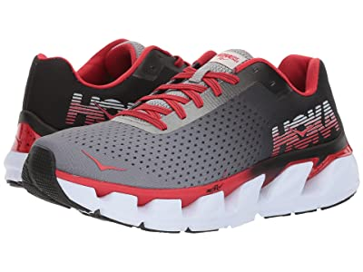 Hoka One One Elevon (Black/Racing Red) Men