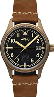 Flyboy Mens Analog Japanese Automatic Watch with Bracelet AV-4071-01