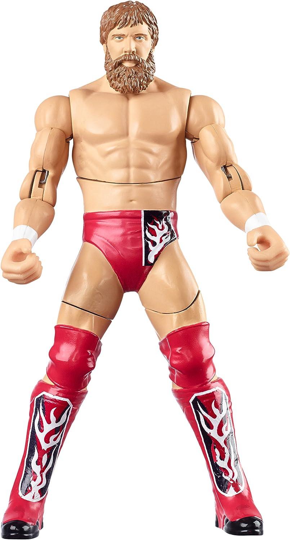 Mattel CDJ66 – WWE Double Attack – Daniel Bryan Figur (ca. 15cm) [UK Import]