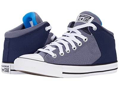 Converse Chuck Taylor All Star High Street Mid (Midnight Navy/Light Carbon) Athletic Shoes