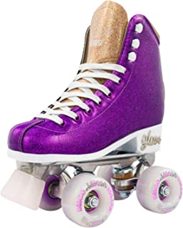 Crazy Skates Glam Roller Skates for Women and Girls | Dazzling Glitter Sparkle Quad Skates
