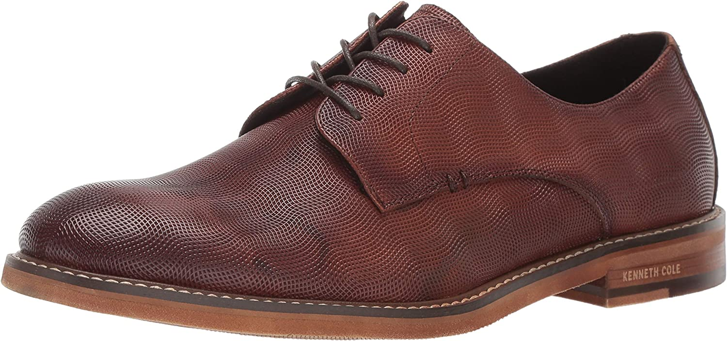 Kenneth Cole New York Mens Dance Lace Up Oxford