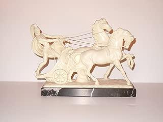 A. Santini Classic Figure Scultpture - Roman Soldier on a Chariot