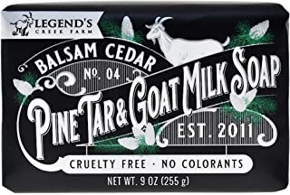 Legend's Creek Farm, Triple Milled Goat Milk Soap, Moisturizing Cleansing Bar, Hands & Body, Creamy Lather & Nourishing, F...