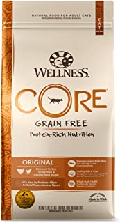 Wellness CORE Grain-Free Original Formula Dry Cat Food, 5 Pound Bag