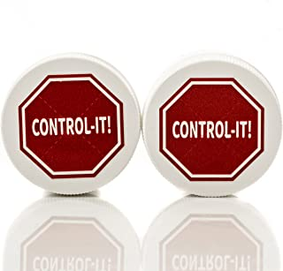 Control-It Stop Thumb Sucking & Nail Biting Cream (2 Pack) All-Natural, Kid-Safe Deterrent   Gentle on Skin, Teeth and Fingers   Bitter Taste   Easy-to-Apply Formula