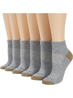Carhartt All Season Cushioned Low Cut Socks 6-Pack