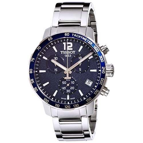 Tissot Mens T0954171104700 Quickster Blue Watch