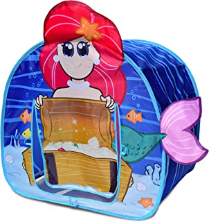 Sunny Days Entertainment Undersea Adventure Mermaid Pop-Up Play Tent with 3D Appendages