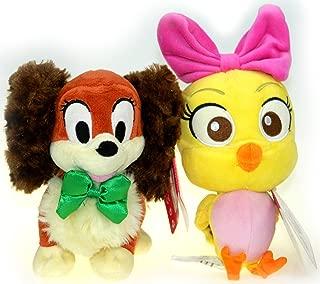 Bundle - 2 items: Disney Junior Cuckoo Loca 9 Plush AND Disney Junior Fifi 7 Plush