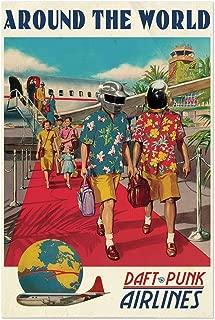 Noir Gallery Daft Punk Around The World Music 11