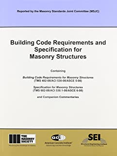 ACI 530-08 Building Code Requirements and Specification for Masonry Structures